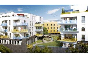Le programme neuf Nouveau Monde à Brest est l'un des projets neufs de nouveau éligibles à la loi Pinel en Bretagne. | Nouveau Monde / Brest / Lamotte